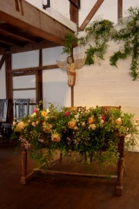 花と器 古道具 草の音 ウエディング